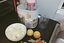 鲜榨 鲜梨橙汁(用的秋梨)的做法