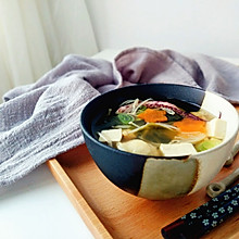 海鲜味增汤