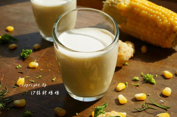 玉米燕麦奶露的做法