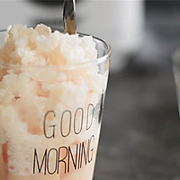 夏日顺滑香甜的奶茶布丁沙冰的做法图解5