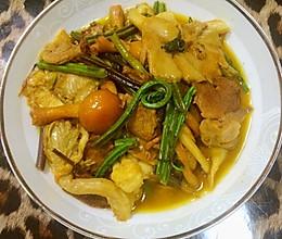 健康美味  杂菌山野菜 -----太太乐鸡汁版的做法