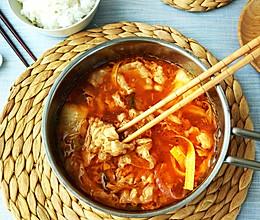 泡菜肥牛锅的做法