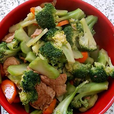 西蓝花炒肉