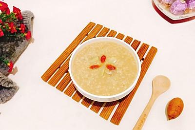 红糖红薯燕麦粥#10分钟早餐大挑战#