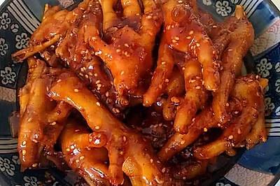 韩式辣鸡爪