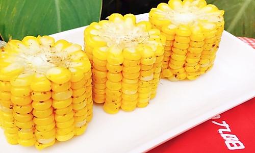#九阳烘培剧场#烤箱试用(三)椒香甜玉米的做法