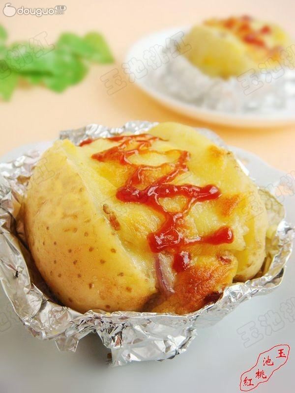 烤奶酪土豆的做法