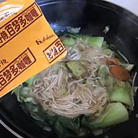 #百梦多圆梦季#咖喱蔬菜面的做法图解7