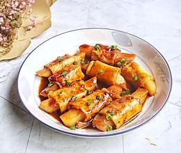 #快手又营养,我家的冬日必备菜品#素排骨的做法