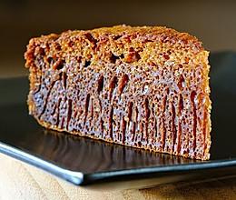 低糖少油—黑糖蜂巢蛋糕6寸的做法