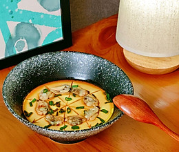 水嫩嫩的『蛤蜊蒸蛋』#美食视频挑战赛#的做法