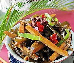 麻辣香干海带丝的做法