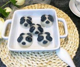 #精品菜谱挑战赛#卡通熊猫汤圆(内附两种馅料做法)的做法