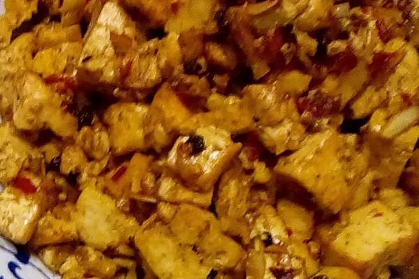干烧豆腐的做法