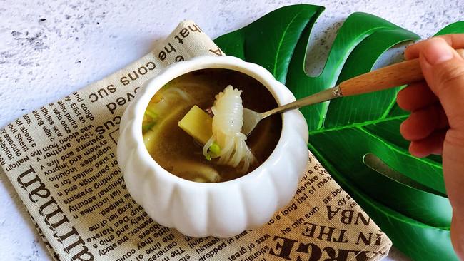 土豆魔芋汤的做法