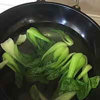 蚝油香菇青菜#人人能开小吃店#的做法图解4