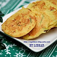 葱丝豆腐渣饼 #美的早安豆浆机#
