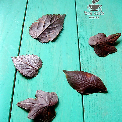 树叶巧克力
