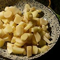 子姜双椒炒兔丁的做法图解5