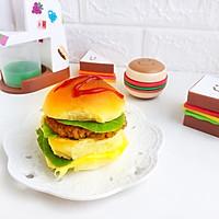 #520,美食撩动TA的心!汉堡包(附煎肉饼方法)的做法图解14