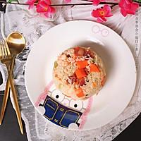 广式腊肠炒饭#中粮我买,真实惠才是食力派#的做法图解13
