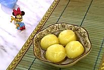 #钟于经典传统味# 南瓜玫瑰黑芝麻汤圆的做法