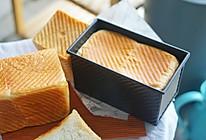 创意面包|网红日式生吐司,软糯到没有朋友#硬核菜谱制作人#的做法