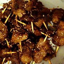 牙签烤肉(烤牙签肉)