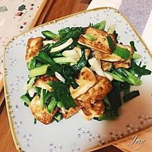 煎豆腐炒大蒜