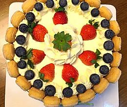 水果奶油蛋糕(7寸)的做法