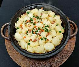 石锅百合的做法