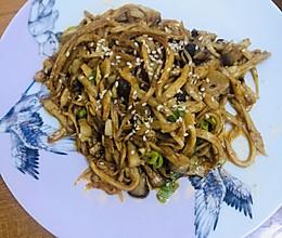 厨房小白烧烤味杏鲍菇的做法