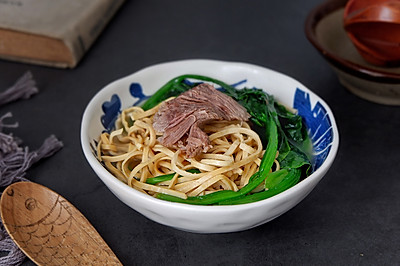 骨汤菠菜煮云丝#春季食材大比拼#