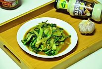 蚝油小白菜的做法
