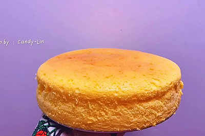 早餐吃蛋糕吧,轻乳淡奶蛋糕(八寸)
