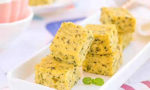 海苔豆腐小方 宝宝辅食食谱的做法