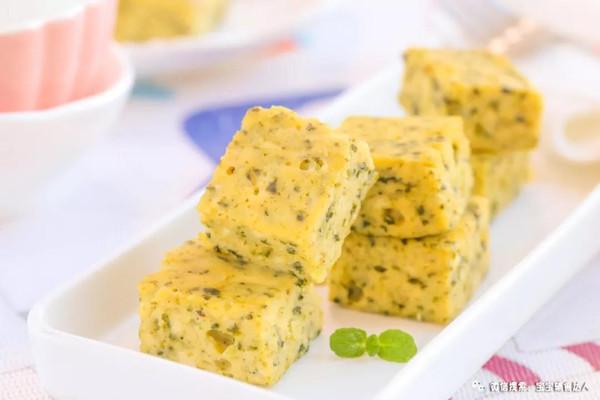 海苔豆腐小方 宝宝辅食食谱