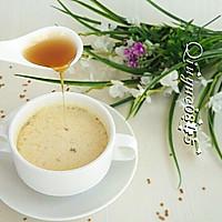 蜂蜜花粉奶茶的做法图解6