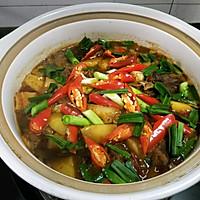 土豆鸡火锅,一道可以两吃的菜的做法图解10