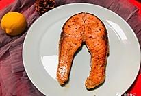 #美食视频挑战赛#香煎三文鱼的做法