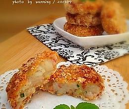 洋葱培根土豆饼的做法