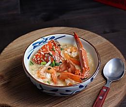 螃蟹大虾海鲜粥的做法