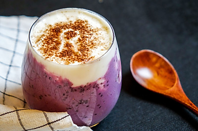 节后清肠解馋必备|幸福紫薯椰味酸奶