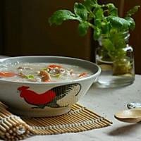 快手鸡丝香菇粥#急速早餐#的做法图解8