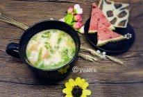 珍珠翡翠白玉汤(时蔬疙瘩汤)的做法