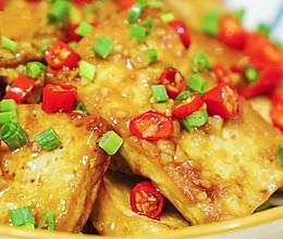 滑嫩鲜辣的家常炒豆腐的做法