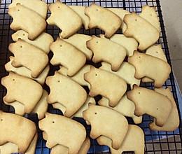 炼乳猪饼干的做法