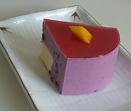 紫薯慕斯的做法
