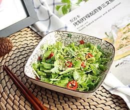 【凉拌老虎菜】#快手又营养,我家的冬日必备菜品#的做法