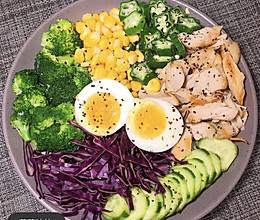 #321沙拉日#减脂蔬菜沙拉的做法